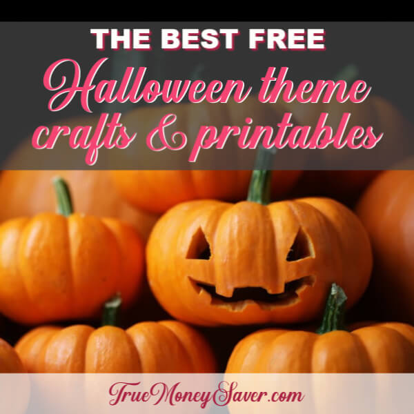 The Best FREE Halloween Theme Crafts & Printables