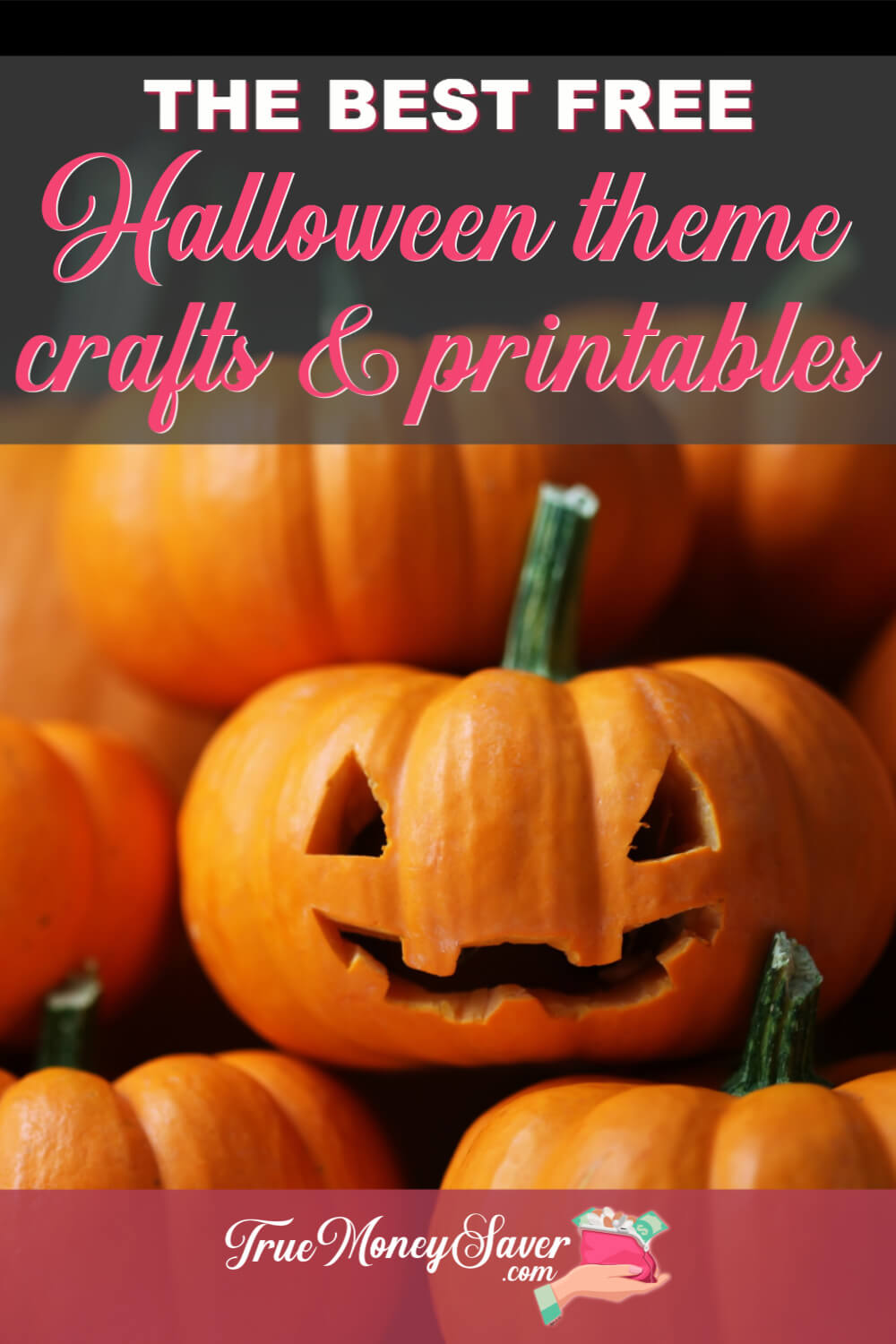 Need to get your kids busy? I\'ve compiled some of the best FREE Halloween printable crafts to keep your kids happy & busy! Plus you\'ll find some easy Halloween crafts ideas and carving templates too! Let\'s have some fun! 