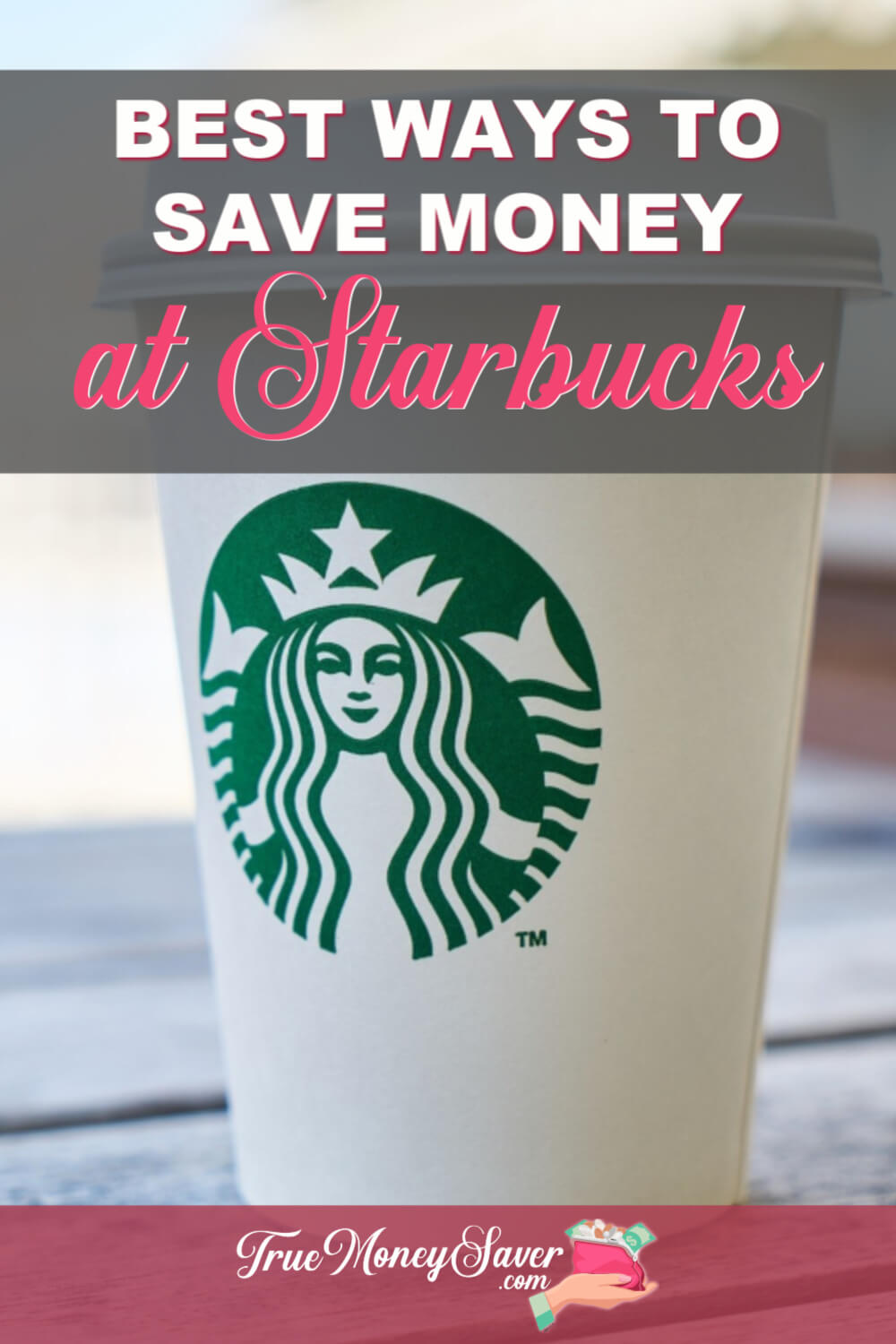 Need some Starbucks hacks for saving money? I\'ll show you how to save money at Starbucks so you can go more often. Plus, saving money at Starbucks tips with save you BIG money! Check out these tips today!