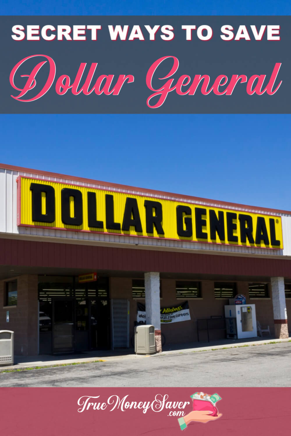 Need some Dollar General shopping tips? I\'ve got the best Dollar General saving hacks and Dollar General couponing tips to help you save more! Plus, if saving money at Dollar General is your kind of fun, these Dollar General secret savings tips are just for you! Start saving today!