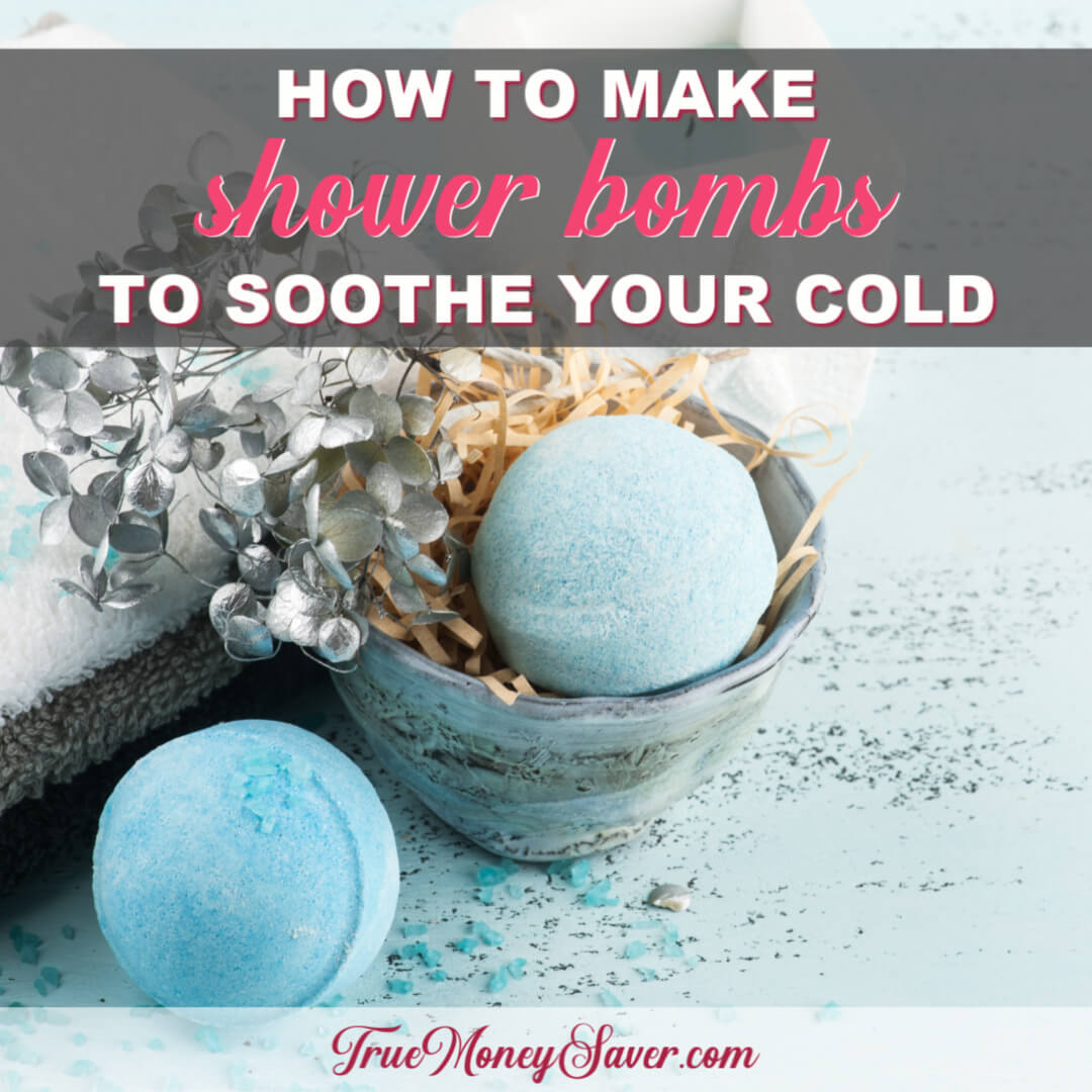 How To Make The Best Shower Bombs To Soothe Your Cold