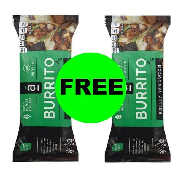 Publix Deal: (2) FREE + $.61 Money Maker On Alpha Foods Burrito (After Ibotta)! (10/9-10/15 Or 10/10-10/16)