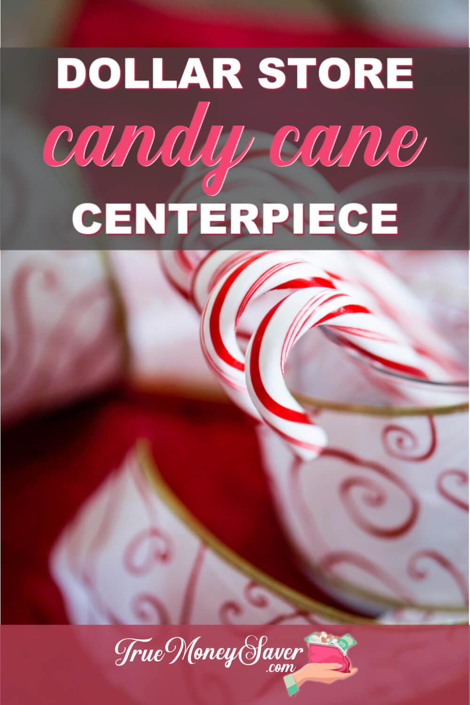 Candy Cane Centerpiece