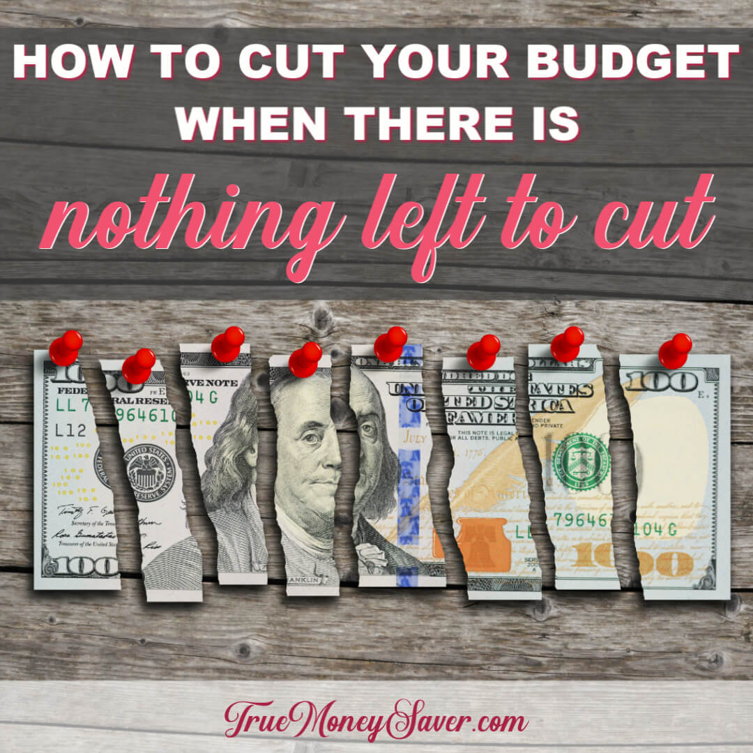 How To Cut Your Budget When There
