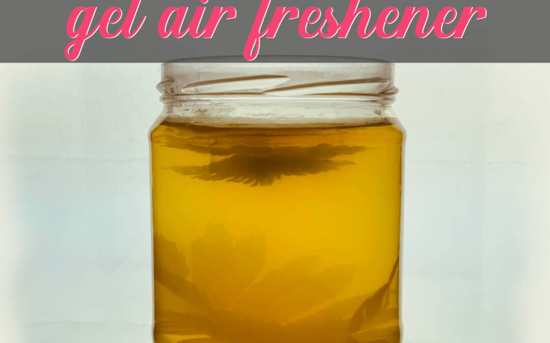 How To Make Super Cheap Gel Air Freshener For Your House