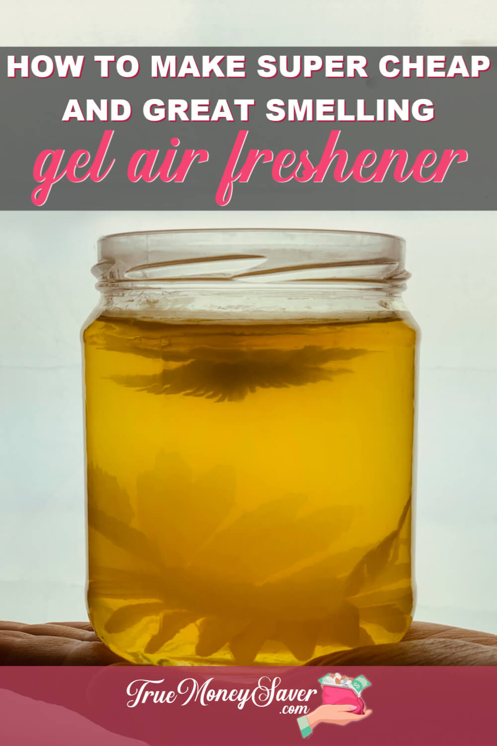 You won\'t believe how simple it is to make these DIY Gel Air Freshener with Essential Oils. In just 5 minutes you can make this homemade gel air freshener to give for gifts! In no time you\'ll have the best air freshener for your house! Start making these today! #truemoneysaver #airfreshener #airfresheners #gelairfreshener #gelairfresheners #airfreshenerfordays #airfreshenerbest #diyairfreshener #diyairfresheners #diyfreshener #diy #moneysavingdiy #diygifts #diygift