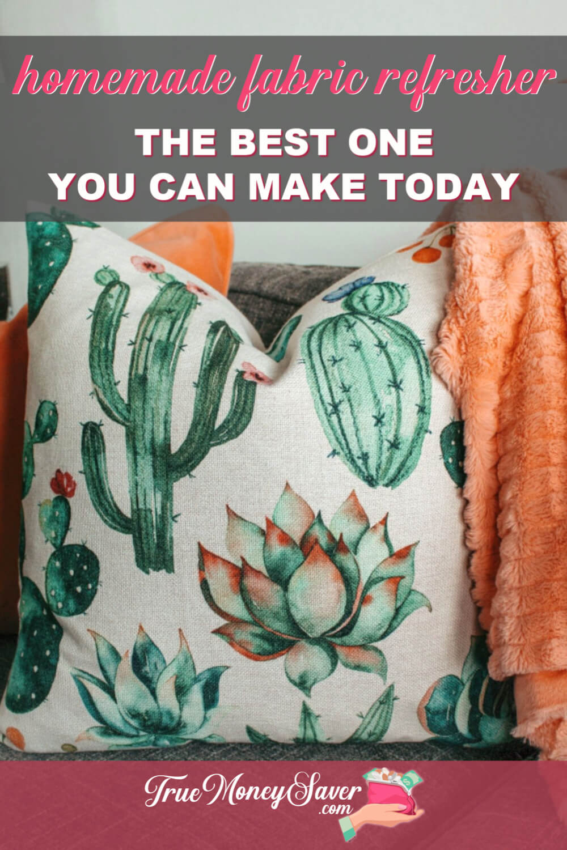 Homemade Fabric Refresher