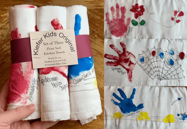 blank tea towel, blank tea towel gift ideas