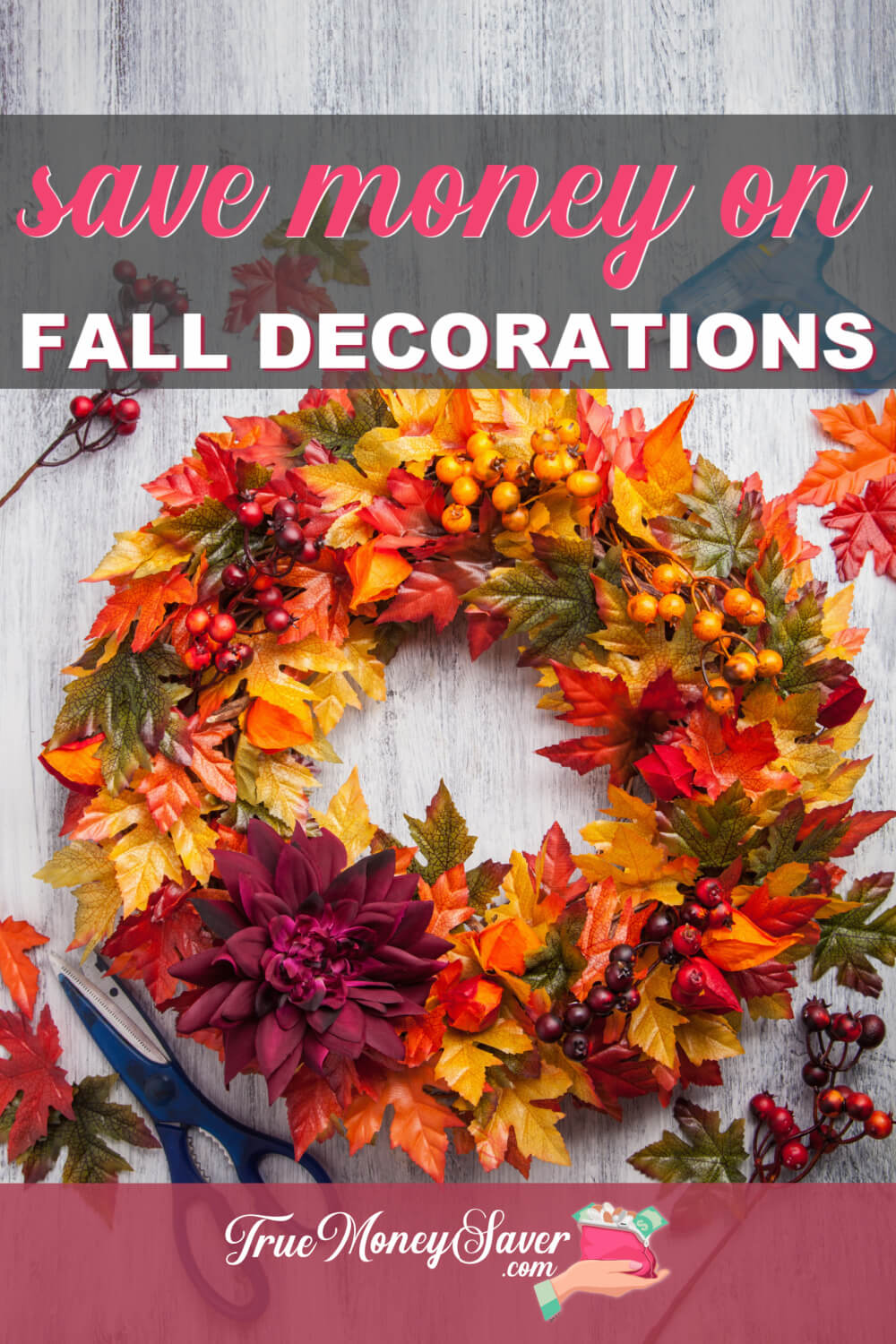 How To Save Money On Fall Decor This Year