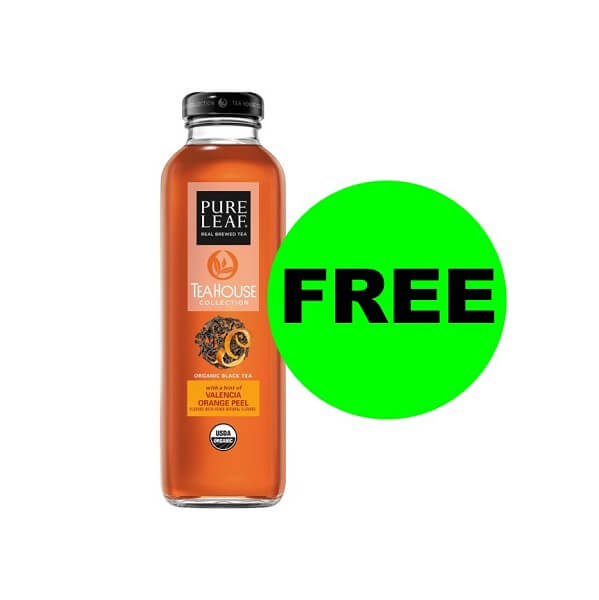 "Publix Deal: ""Clip"" Now For FREE Pure Leaf Organic Tea! (Ends 11/8)"
