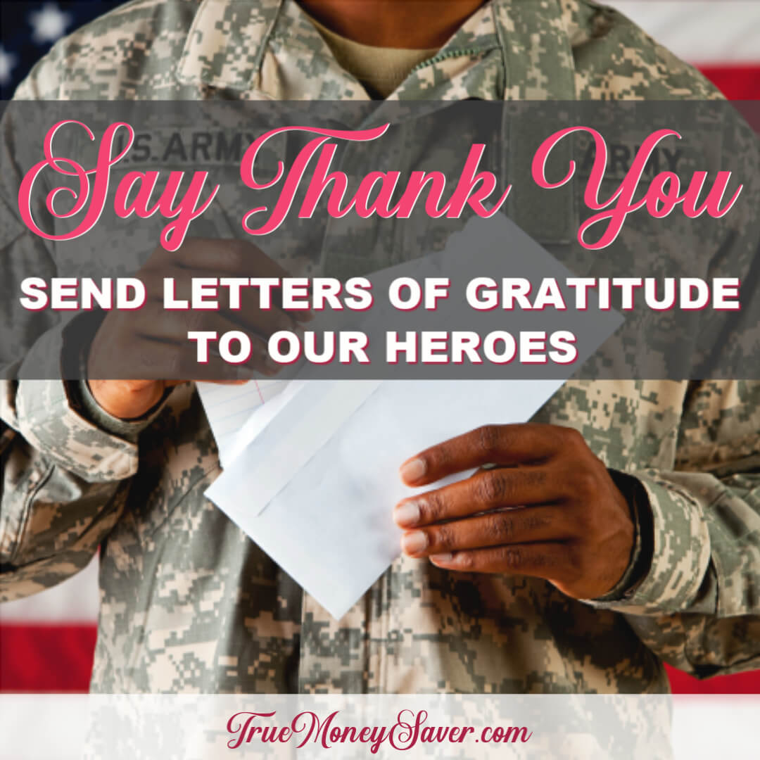 Spread Some Love With Our Brave Military Men And Women Who Serve