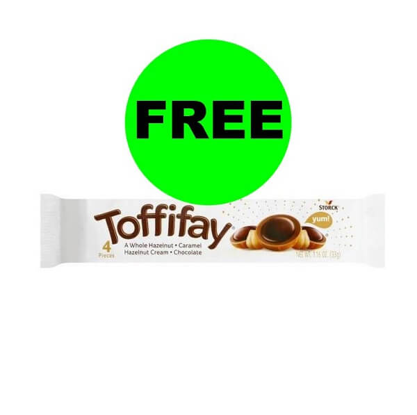 Publix Deal: FREE Toffifay Caramel Hazelnut Cream Chocolate Bars!