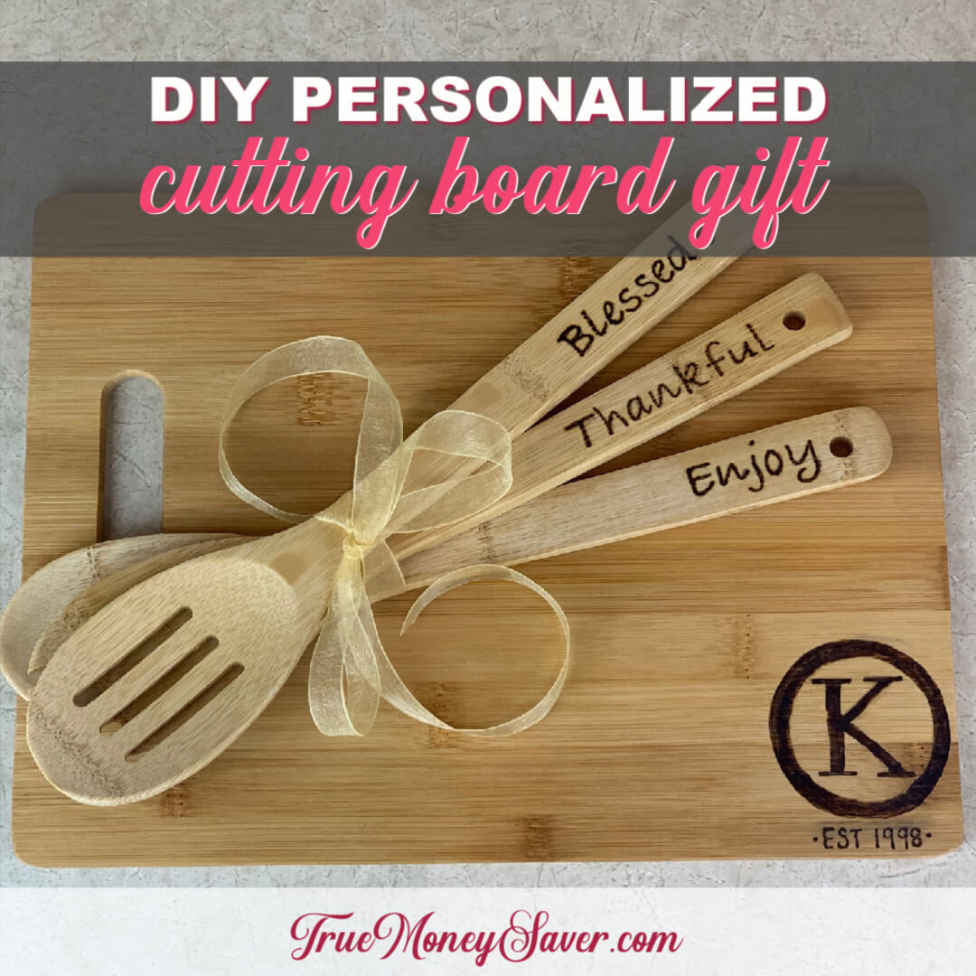 How To Make The Best Cutting Board For Gifts This Year {Homemade Christmas DIY Gift #10}