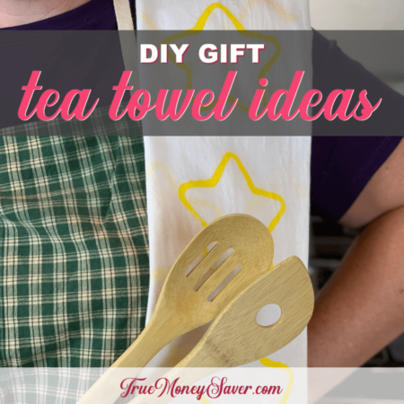 How To Turn Blank Tea Towels Into The Ultimate Gift