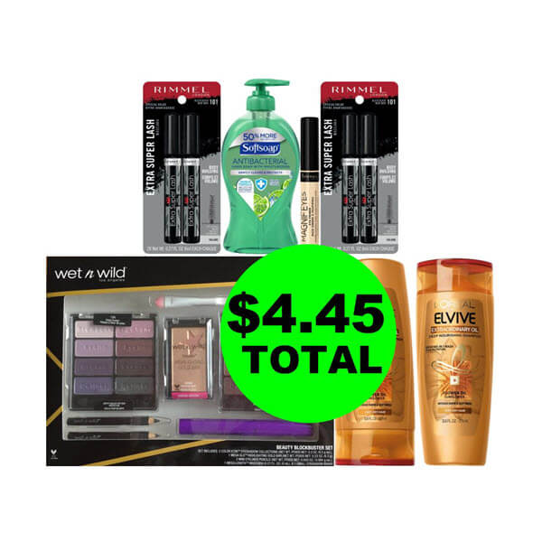 CVS Deal Idea: For $4.45 Total, Get (3) Cosmetics, (2) Hair Care, (1) Gift Set & (1) Hand Soap! (11/17-11/23)