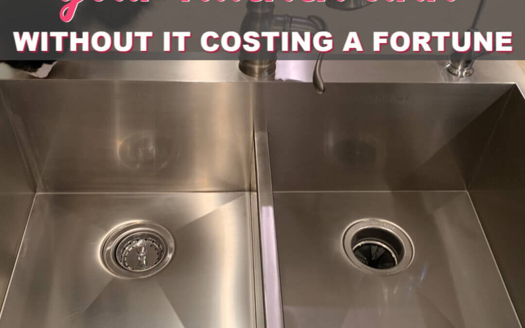 How To Clean Stainless Steel Sinks And Not Spend A Fortune