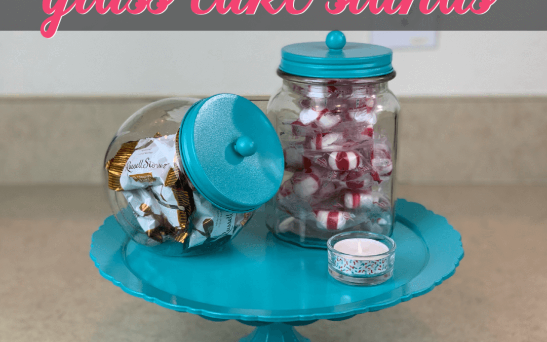 How To Make Vintage Glass Cake Stands For The Greatest Gift {Homemade Christmas DIY Gift #2}
