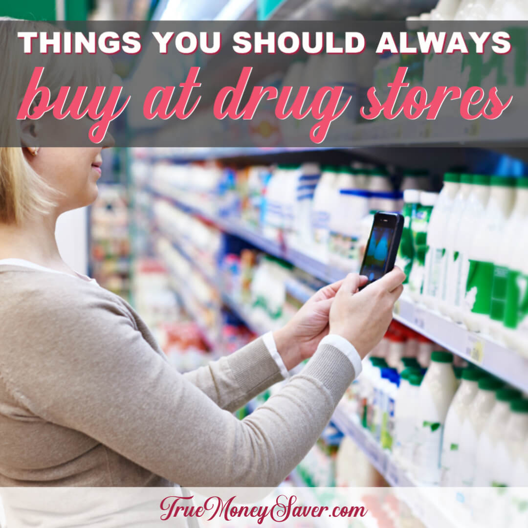 Things You Should Always Buy At Drug Stores