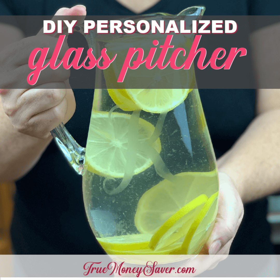 How To Personalize A Glass Pitcher Into A Terrific Gift This Year