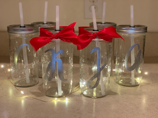DIY mason jar drinks gift ideas