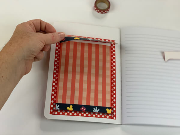 simple travel notebook