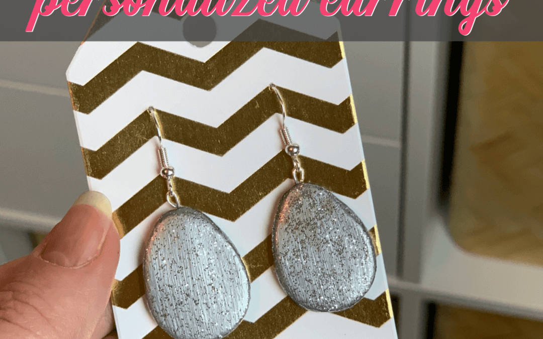 How To Make Earrings Easily From Air Dry Clay