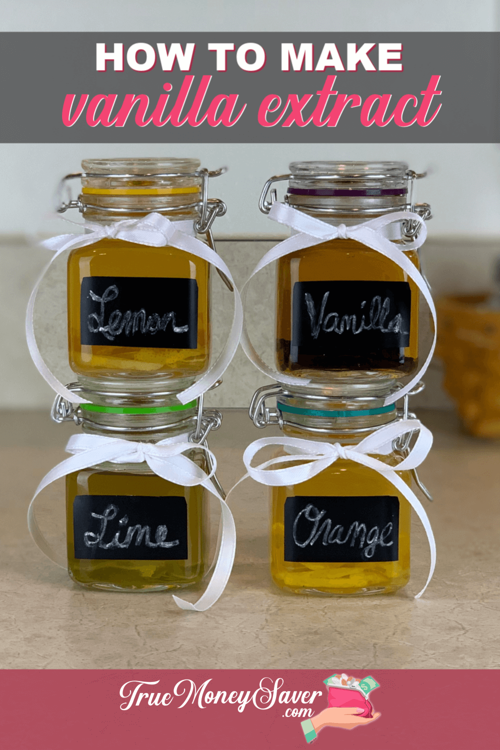 homemade extracts recipes