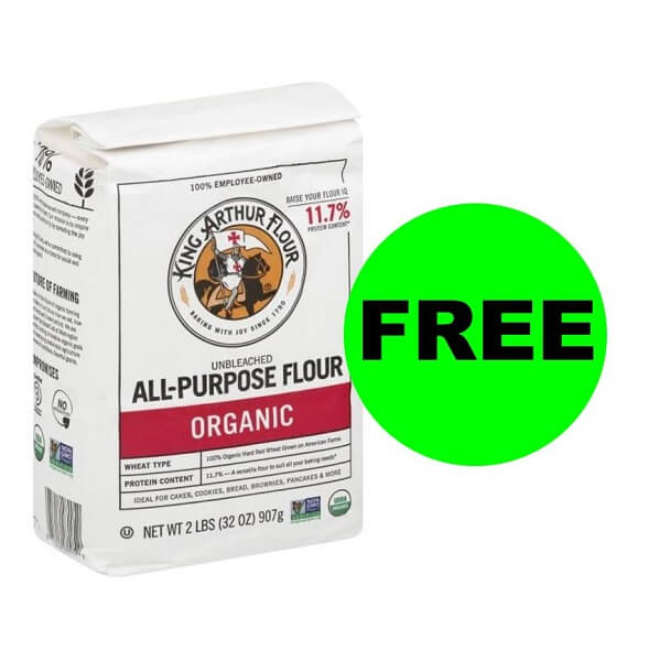 Publix Deal: FREE + $.50 Money Maker On King Arthur Organic Flour (After Ibotta)! (Ends 11/22)