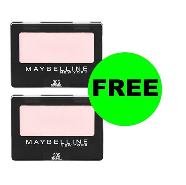 Sneak Peek CVS Deal: (2) FREE + $3.62 Money Maker On Maybelline Eyeshadows! (3/15-3/21)