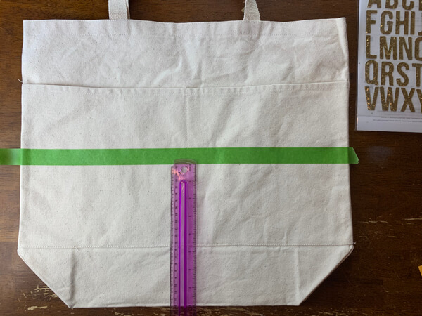 DIY Waterproof Tote Bag