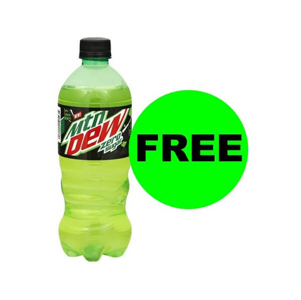 "Publix Deal: ""Clip"" For A FREE Mountain Dew Zero Drink! (Ends 2/28)"