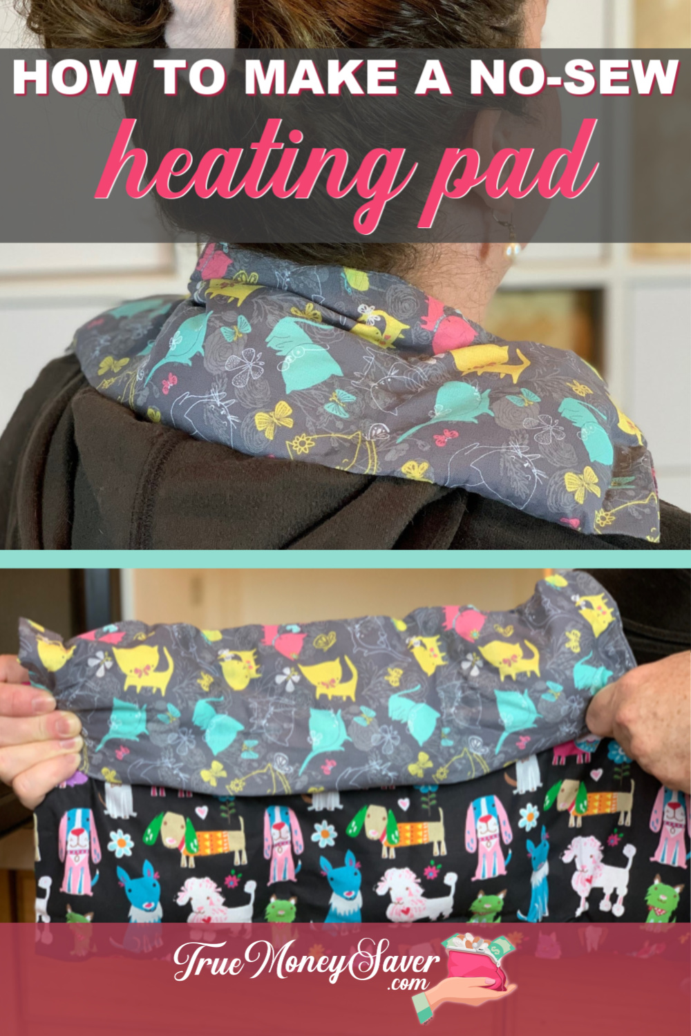 DIY heat pads gifts