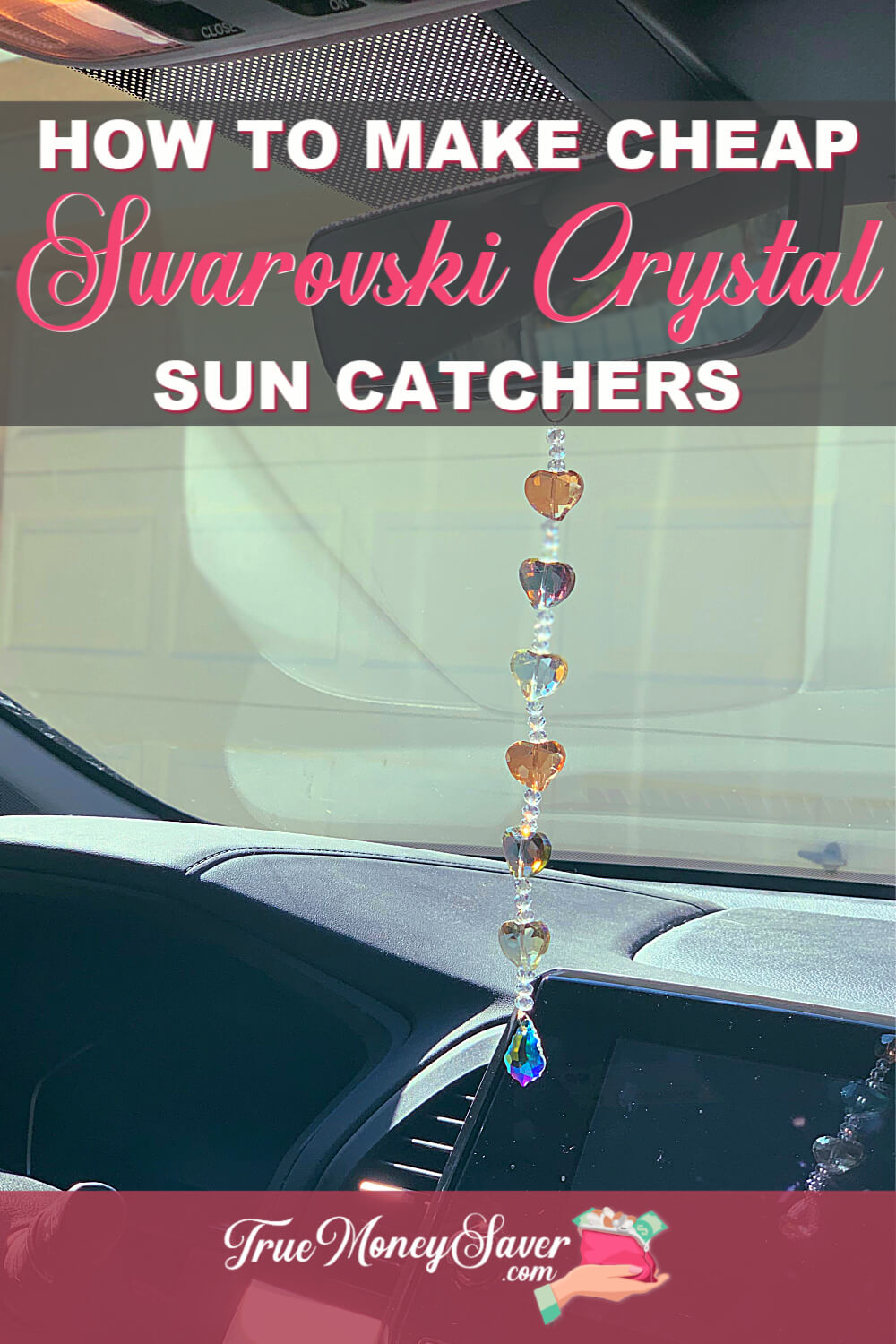 DIY crystal suncatcher ideas