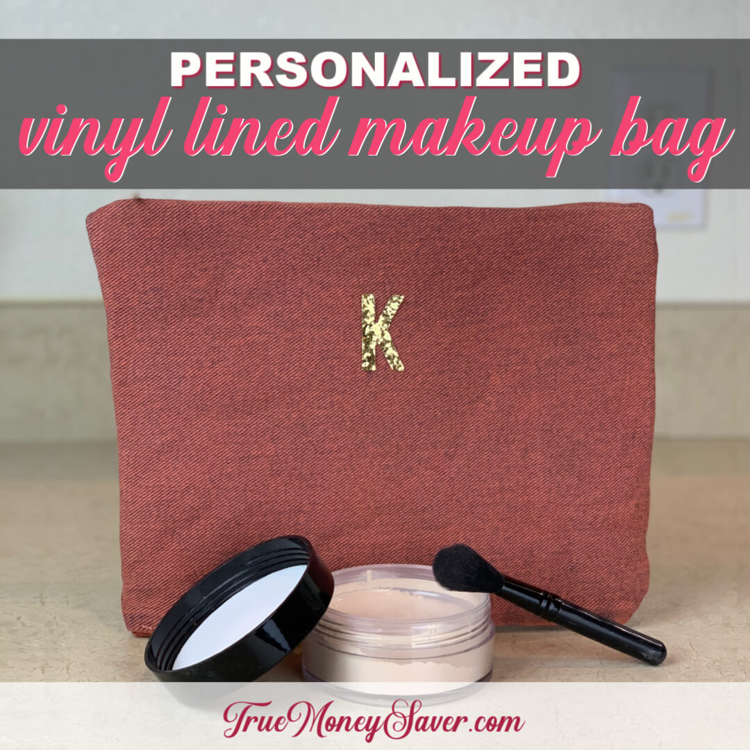 How To Make The Best Personalized Makeup Bags In Minutes