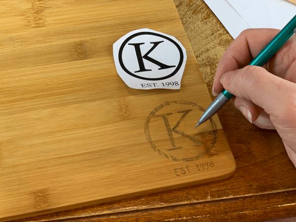 personalized wood burning gift