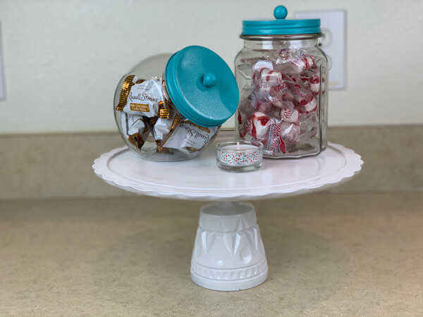 DIY easy cake stand