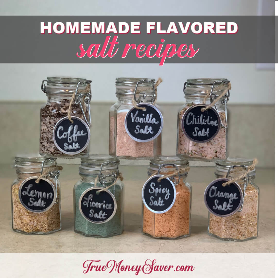 The Best Homemade Flavored Salt Recipes You