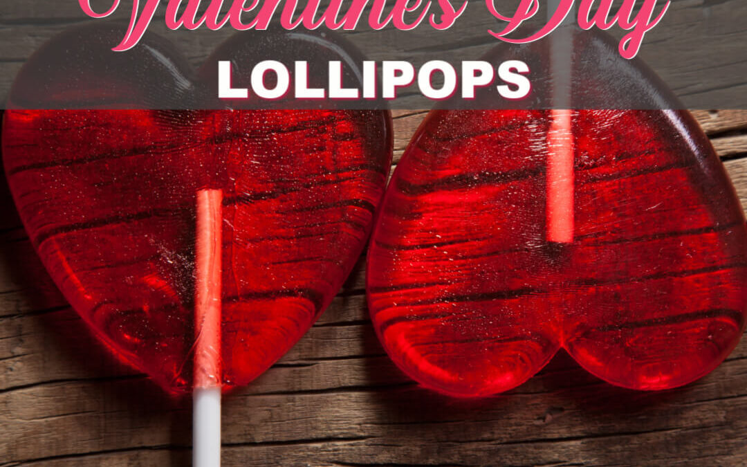 How To Make The Sweetest Valentine's Day Lollipop Recipe