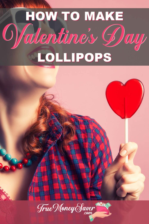 Valentine's Day Lollipop
