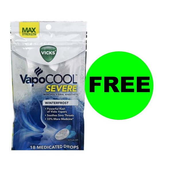 Publix Deal: FREE Vicks Vapocool Drops! (Ends 12/13)
