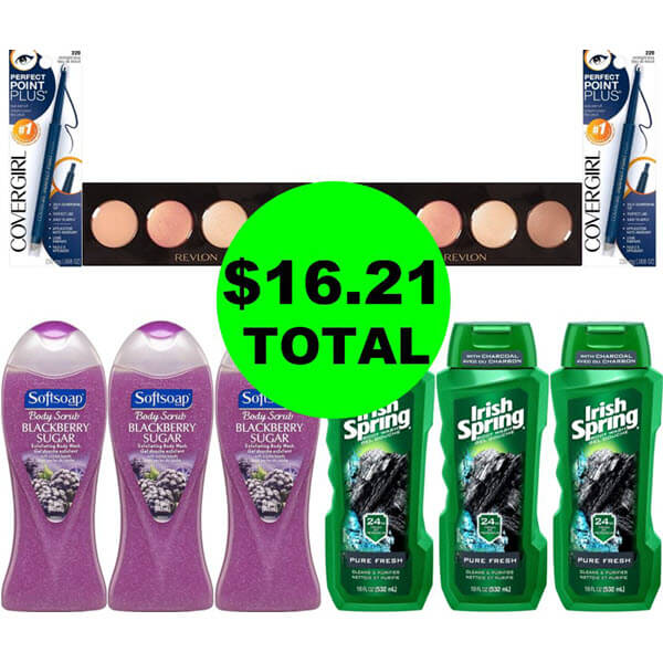 CVS Deal Idea: For $16.21 Total, Get (6) Body Washes & (4) Cosmetics! (1/19-1/25)
