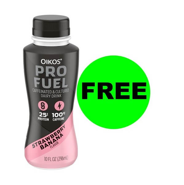 "Publix Deal: ""Clip"" For FREE Dannon Oikos Pro Fuel Drink! (Ends 2/12)"