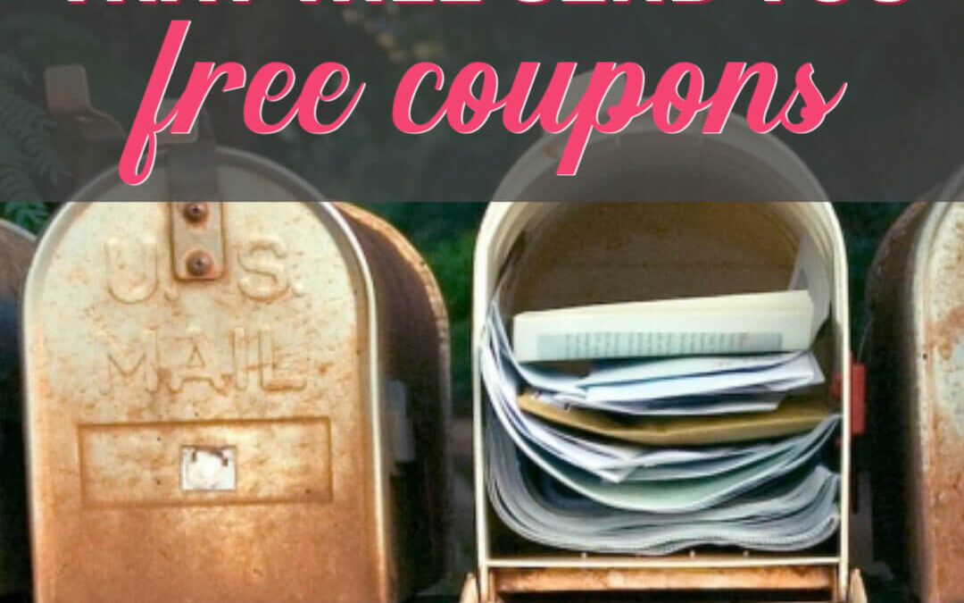 Get Happy Mail! These 250+ Companies Will Send You FREE Coupons!