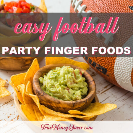 Easy Football Finger Foods You'll Want To Make This Year