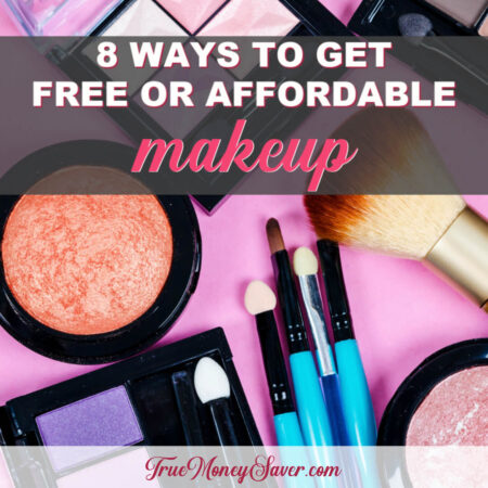 Affordable Or Even Free Makeup