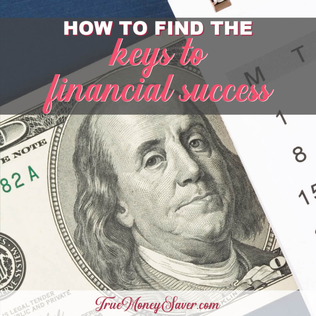 How To Find The Keys To Financial Success This Year