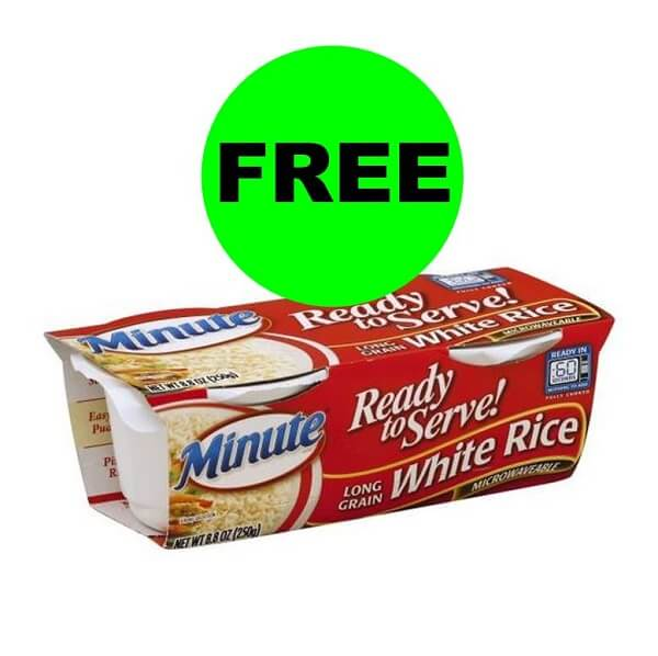 Sneak Peek Publix Deal: FREE Minute Rice Ready To Serve Rice (After Ibotta)! (1/25-?)