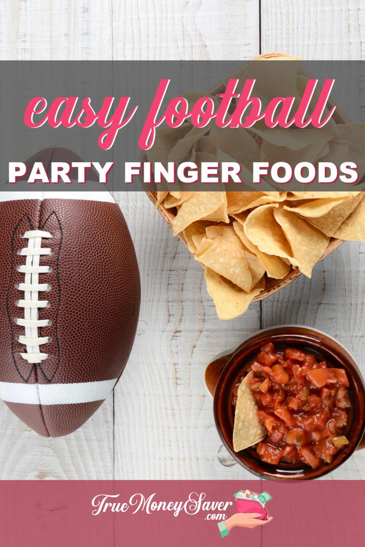 football finger foods