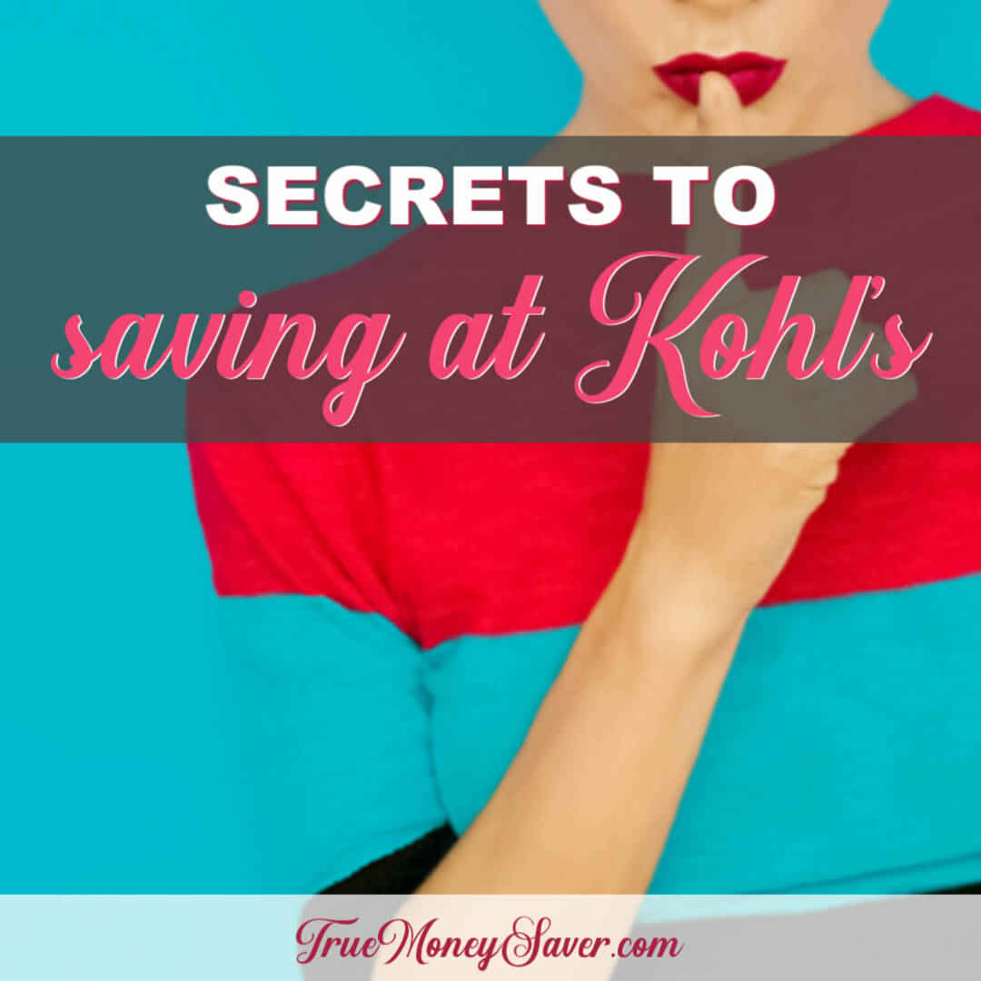 Over Twenty Ways To Save When You Shop At Kohl