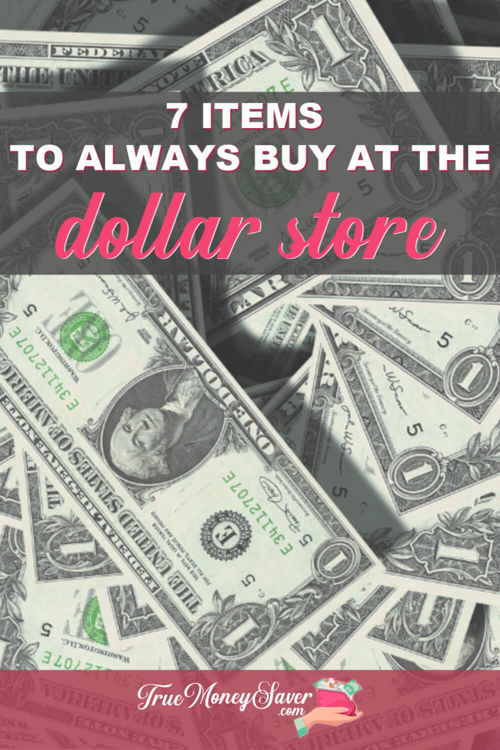 There are items that are WAY CHEAPER to buy at the Dollar Store. Do you know what they are? Check out these deals to get at your nearest dollar store to save more money this year! 